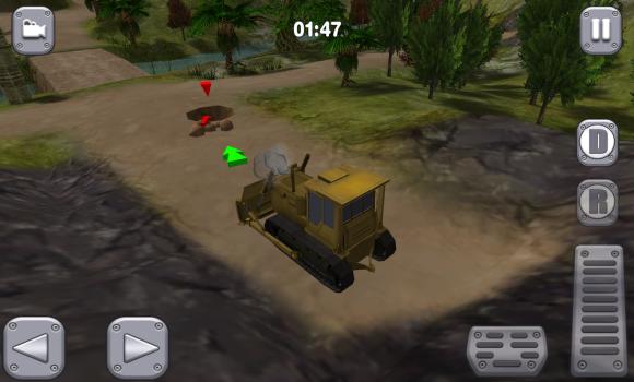 Bull Dozer Driver 3D: Offroad Ekran Görüntüleri - 2