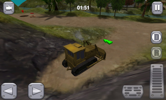 Bull Dozer Driver 3D: Offroad Ekran Görüntüleri - 1