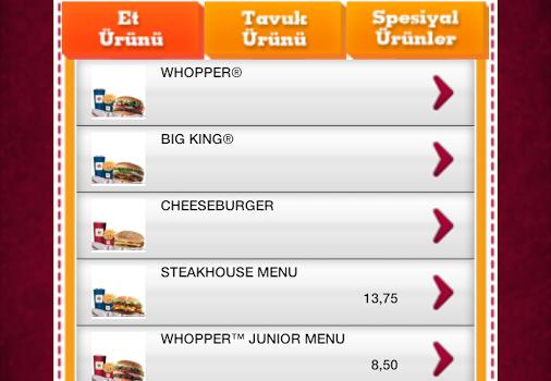 Burger King Türkiye Ekran Görüntüleri - 5
