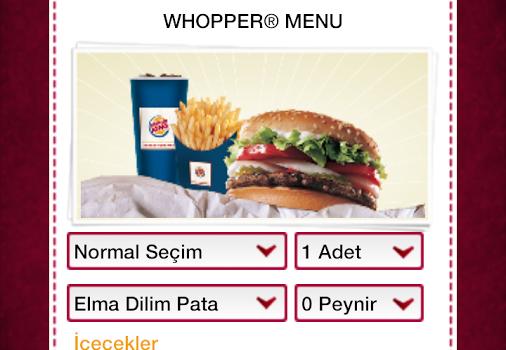 Burger King Türkiye Ekran Görüntüleri - 4