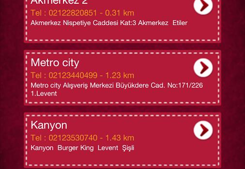 Burger King Türkiye Ekran Görüntüleri - 1
