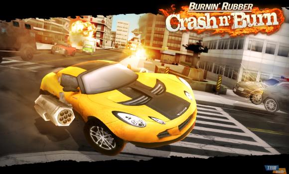 Burnin' Rubber Crash n' Burn Ekran Görüntüleri - 5