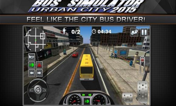 Bus Simulator 2015: Urban City Ekran Görüntüleri - 5