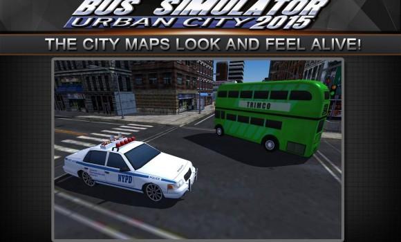 Bus Simulator 2015: Urban City Ekran Görüntüleri - 4