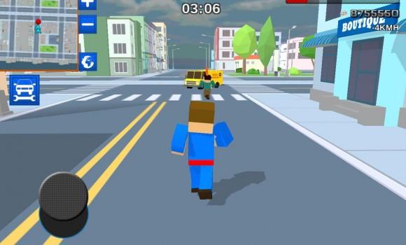 Car Craft Blocky City Racer Ekran Görüntüleri - 4
