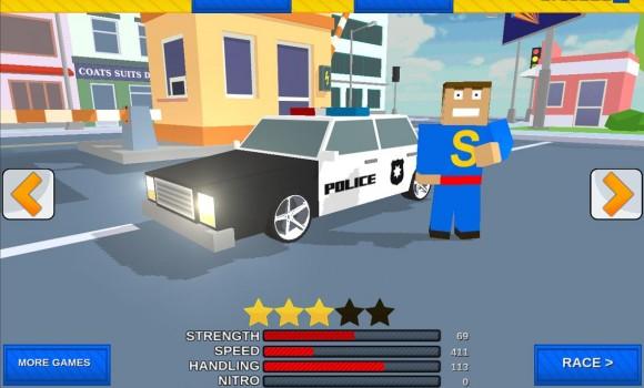 Car Craft Blocky City Racer Ekran Görüntüleri - 3