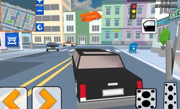 Car Craft Blocky City Racer Ekran Görüntüleri - 1