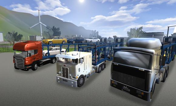 Car Transporter Truck Parking Ekran Görüntüleri - 2