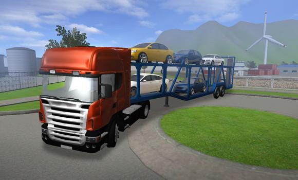 Car Transporter Truck Parking Ekran Görüntüleri - 1