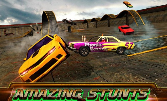 Car Wars 3D: Demolition Mania Ekran Görüntüleri - 2