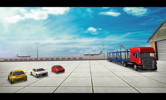 Cargo Plane Car Transporter 3D Ekran Görüntüleri - 5