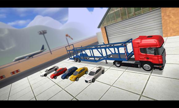 Cargo Plane Car Transporter 3D Ekran Görüntüleri - 3