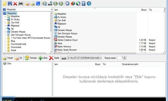 CDBurnerXP Ekran Görüntüleri - 3