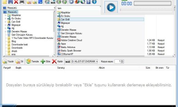 CDBurnerXP Ekran Görüntüleri - 1