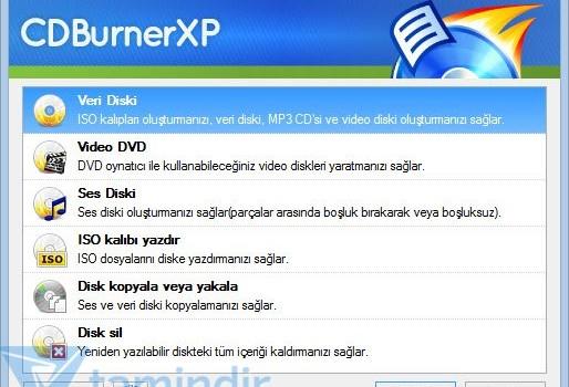 CDBurnerXP Ekran Görüntüleri - 4
