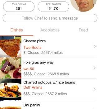 Chefs Feed Ekran Görüntüleri - 1