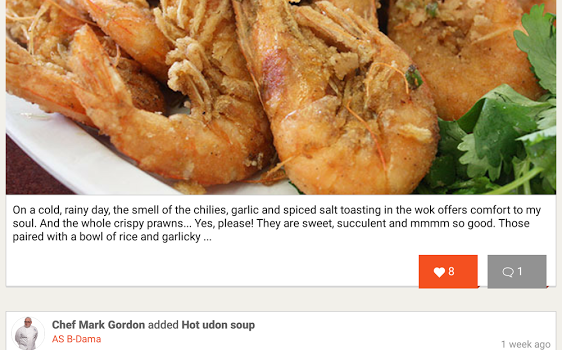 Chefs Feed Ekran Görüntüleri - 4