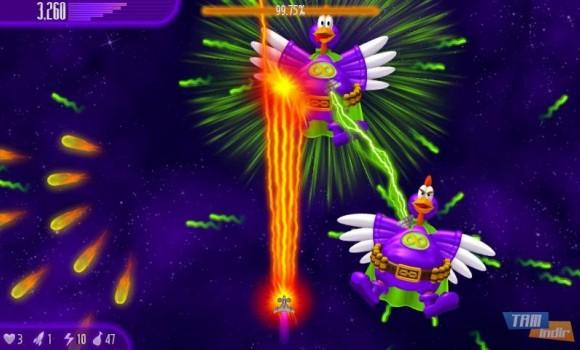 Chicken Invaders 4 Ekran Görüntüleri - 5