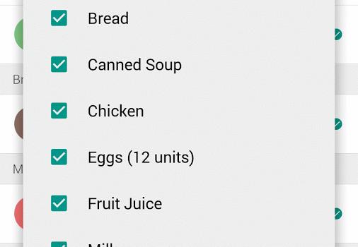 Cinnamon Grocery Shopping List Ekran Görüntüleri - 1