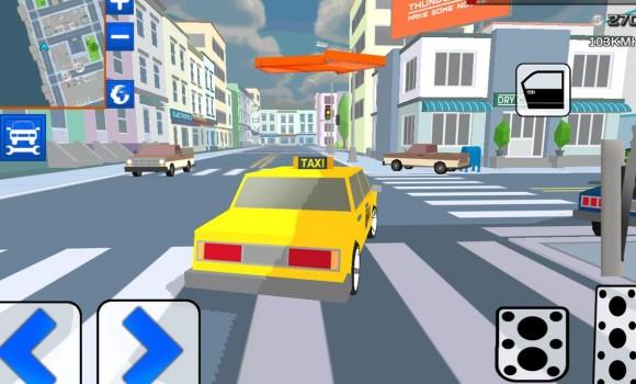 City Bricks vs Craft Taxi SIM Ekran Görüntüleri - 4
