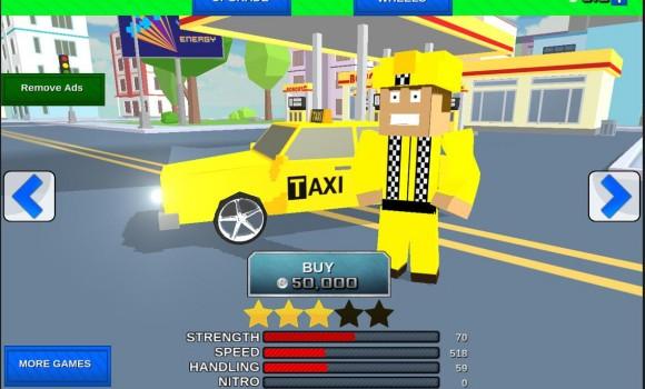 City Bricks vs Craft Taxi SIM Ekran Görüntüleri - 3