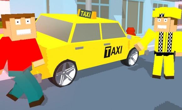 City Bricks vs Craft Taxi SIM Ekran Görüntüleri - 2