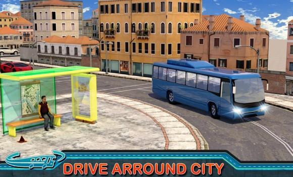 City Bus Driving Mania 3D Ekran Görüntüleri - 4
