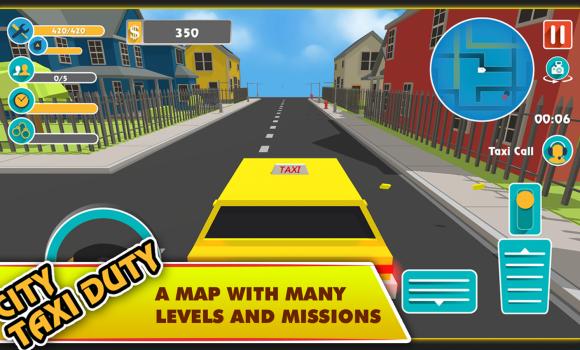 City Taxi Duty Ekran Görüntüleri - 1
