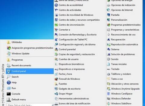 Classic Windows Start Menu Ekran Görüntüleri - 1