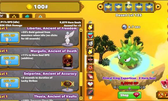 Clicker Heroes Ekran Görüntüleri - 1