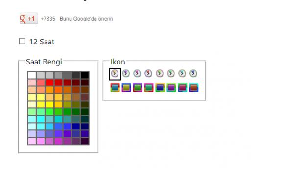 Clock For Chrome Ekran Görüntüleri - 1