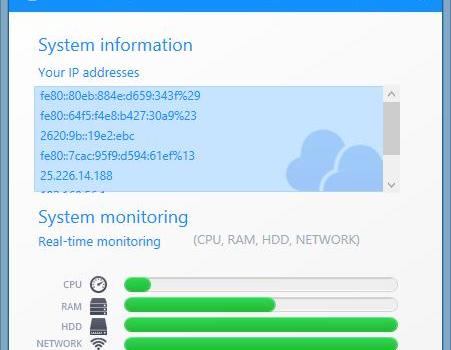 Cloudiff Monitor Agent Ekran Görüntüleri - 5