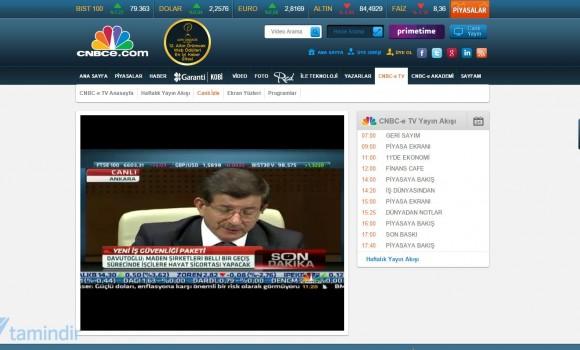 CNBC-e Canlı Yayın İzle Ekran Görüntüleri - 1