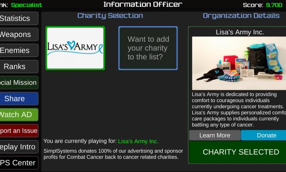 Combat Cancer Ekran Görüntüleri - 6