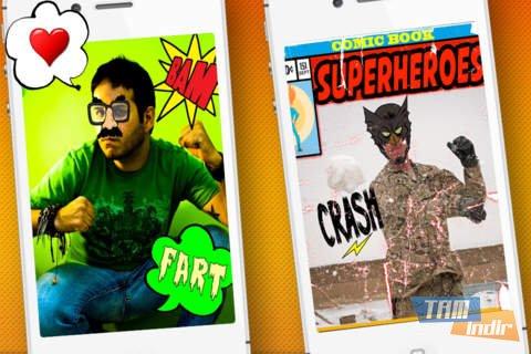 Comic Booth: Comic Your Face Ekran Görüntüleri - 1
