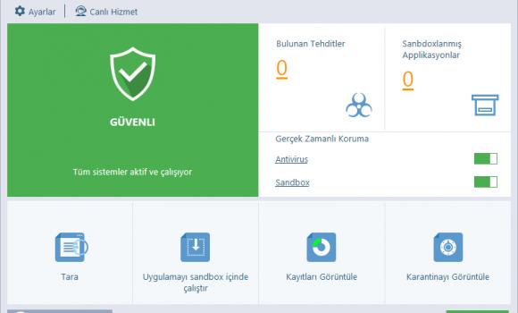 Comodo Cloud Antivirus Ekran Görüntüleri - 4