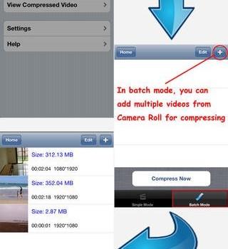 Compress Video Ekran Görüntüleri - 2
