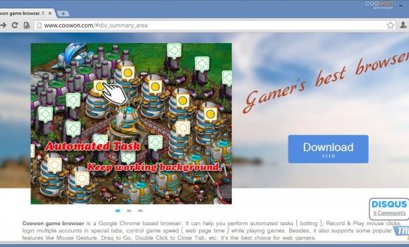 Coowon Browser Ekran Görüntüleri - 4
