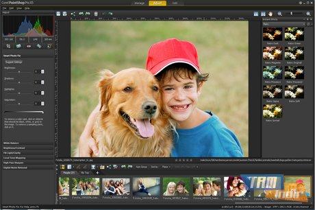 Corel Paint Shop Pro Photo Ekran Görüntüleri - 2