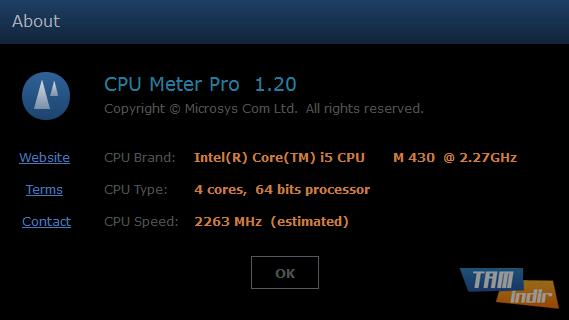 CPU Meter Pro Ekran Görüntüleri - 1