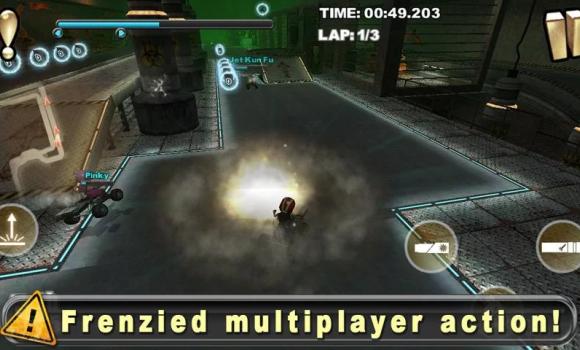 Cracking Sands - Combat Racing Ekran Görüntüleri - 2