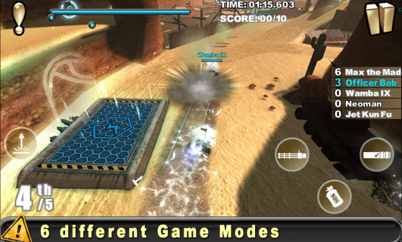Cracking Sands - Combat Racing Ekran Görüntüleri - 1
