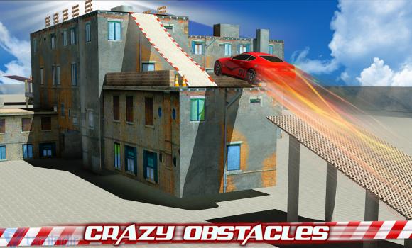 Crazy Car Roof Jumping 3D Ekran Görüntüleri - 1