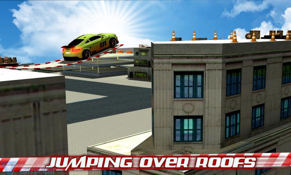 Crazy Car Roof Jumping 3D Ekran Görüntüleri - 5