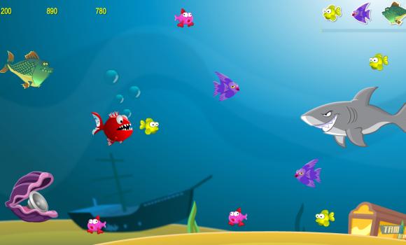 Crazy Hungry Fish Free Game Ekran Görüntüleri - 4