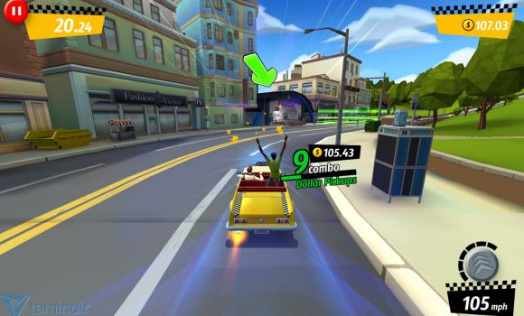 Crazy Taxi: City Rush Ekran Görüntüleri - 5