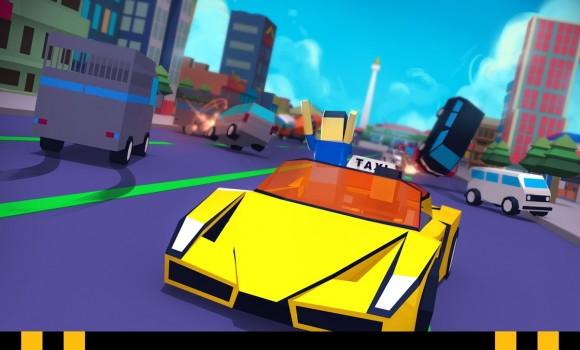 Crazy Traffic Taxi Ekran Görüntüleri - 2