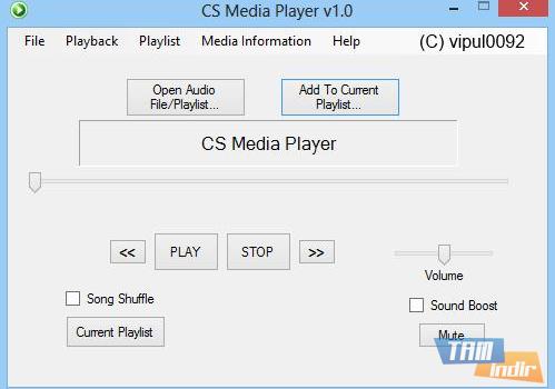CS Media Player Ekran Görüntüleri - 3