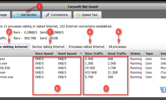 Cucusoft Net Guard Ekran Görüntüleri - 6