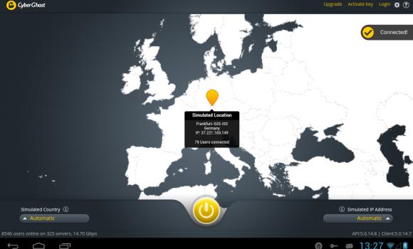 CyberGhost VPN Ekran Görüntüleri - 10
